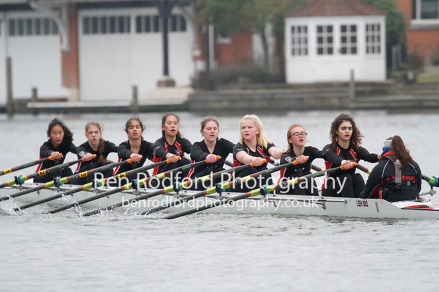 Crew: 96 - Lady E Holles  - W.J14A.8x+ <br /> <br /> Henley Fours &amp; Eights Head 2017<br /> <br /> To purchase this photo, or to see pricing information for Prints and Downloads, click the blue 'Add to Cart' button at the top-right of the page.