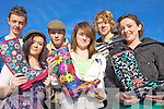 BOOTIFUL: Students of St Joseph's Secondary School in Ballybunion who held a welly-wearing day for Concern on Friday, l-r: Con Carmody, Vada Pierse, PJ Butler, Sarah Prendergast, JJ Doherty, Avril Dineen.