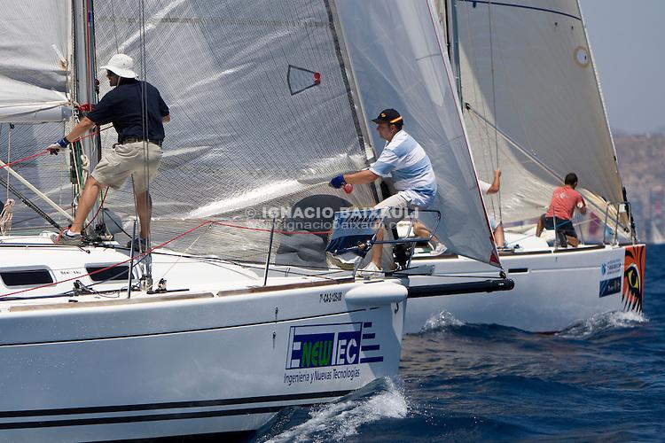 ESP8697 .RI 3 .ENEWTEC .INGENIERIA Y NUEVA TECNOLOGIA 2007 SL .LA ISLETA .FIRST 34.7 LK .2008 . 9.98 .XIV TROFEO TABARCA CIUDAD DE ALICANTE.Real Club de Regatas de Alicante, 9 al 12 de Julio de 2009