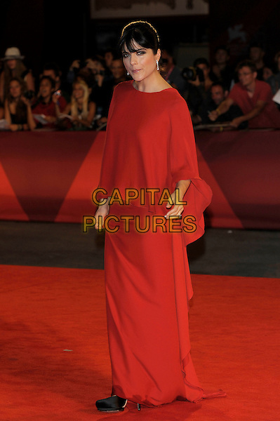 Selma Blair (wearing Lanvin).The 'Dark Horse' Premiere during the 68th Venice International Film Festival at Palazzo del Cinema, Venice, Italy. .September 5th, 2011.full length red dress.CAP/PL.©Phil Loftus/Capital Pictures.