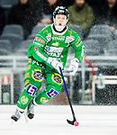 Stockholm 2015-03-14 Bandy Bronsmatch Hammarby IF - Villa Lidk&ouml;ping BK :  <br /> Hammarbys Adam Gilljam i aktion under matchen mellan Hammarby IF och Villa Lidk&ouml;ping BK <br /> (Foto: Kenta J&ouml;nsson) Nyckelord:  Tele2 Arena SM Brons Bronsmatch Tredjepris herr herrar Hammarby HIF Bajen Villa Lidk&ouml;ping VLBK portr&auml;tt portrait