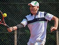 Etten-Leur, The Netherlands, August 27, 2016,  TC Etten, NVK, Frank van Lerven (NED)<br /> Photo: Tennisimages/Henk Koster