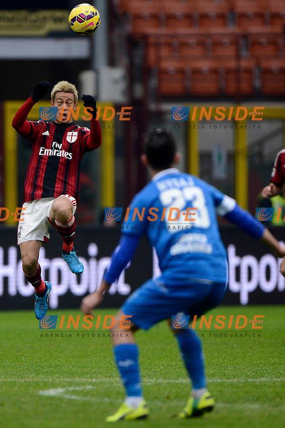 Keisuke Honda Milan<br /> Milano 15-02-2015 Stadio Giuseppe Meazza - Football Calcio Serie A Milan - Empoli. Foto Giuseppe Celeste / Insidefoto