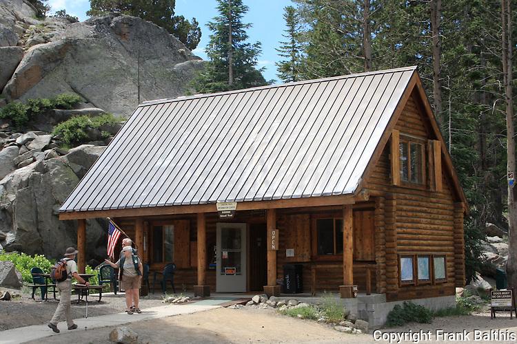 Eldorado National Forest Visitor Center at Carson Pass
