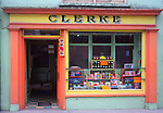 Colourful old fashioned shop in Skibbereen, County Cork, Ireland