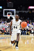 Wednesday, January 4, 2016: Providence Friars guard Isaiah Jackson (44) drives the ball during the NCAA basketball game between the Georgetown Hoyas and the Providence Friars held at the Dunkin Donuts Center, in Providence, Rhode Island. Providence defeats Georgetown 76-70 in regulation time. Eric Canha/CSM