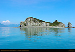 Duck Island, Puffin Island, Mount Redoubt, Tuxedni Bay, Cook Inlet, Alaska