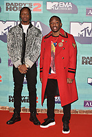 Krept and Konan<br /> MTV EMA Awards 2017 in Wembley, London, England on November 12, 2017<br /> CAP/PL<br /> &copy;Phil Loftus/Capital Pictures