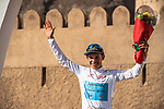 Miguel Angel Lopez Moreno (COL) Astana Pro Team wins Stage 5 retains the White Jersey of the 2018 Tour of Oman running 152km from Sam'il to Jabal Al Akhdhar. 17th February 2018.<br /> Picture: ASO/Muscat Municipality/Kare Dehlie Thorstad | Cyclefile<br /> <br /> <br /> All photos usage must carry mandatory copyright credit (&copy; Cyclefile | ASO/Muscat Municipality/Kare Dehlie Thorstad)