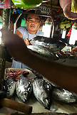 PHILIPPINES, Palawan, Puerto Princessa, fish for sale at the Old Market in the City Port Area