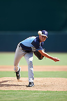 Tampa Bay Rays pitcher Matt Vogel (26) during an Instructional League game against the Baltimore Orioles on September 19, 2016 at Ed Smith Stadium in Sarasota, Florida.  (Mike Janes/Four Seam Images)