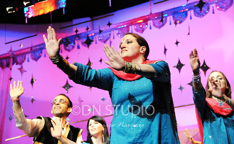 """Bollywood and Bhangra Dance """"Bax to the Future"""" Recital 2010 at Tribeca Performing Arts Center in New York City, NY on Saturday, February 27, 2010....."""