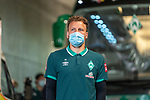 Ankunft am Stadion, Philipp Bargfrede (Werder Bremen #44)<br /> <br /> <br /> Sport: nphgm001: Fussball: 1. Bundesliga: Saison 19/20: 33. Spieltag: 1. FSV Mainz 05 vs SV Werder Bremen 20.06.2020<br /> <br /> Foto: gumzmedia/nordphoto/POOL <br /> <br /> DFL regulations prohibit any use of photographs as image sequences and/or quasi-video.<br /> EDITORIAL USE ONLY<br /> National and international News-Agencies OUT.