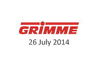 Grimme 26 July 2014
