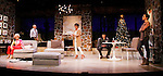 """As The World Turns' Colleen Zenk stars along with the cast - Peggy J. Scott, Malachy Cleary, Davy Raphaely and Brenda in """"Other Desert Cities"""" at the tech rehearsal (in costume) on October 14, 2015 at Whippoorwill Halll Theatre, North Castle Library, Kent Place, Armonk, New York.  (Photo by Sue Coflin/Max Photos)"""