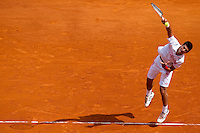 Novak DJOKOVIC (SRB) against Fernando VERDASCO (ESP) in the semi-finals. Fernando Verdasco beat Novak Djokovic 6-2 6-2..International Tennis - 2010 ATP World Tour - Masters 1000 - Monte-Carlo Rolex Masters - Monte-Carlo Country Club - Alpes-Maritimes - France..© AMN Images, Barry House, 20-22 Worple Road, London, SW19 4DH.Tel -  + 44 20 8947 0100.Fax - + 44 20 8947 0117