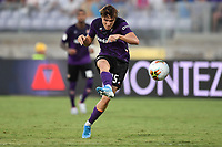 Federico Chiesa of Fiorentina scores goal of 3-1 <br /> Firenze 19/08/2019 Stadio Artemio Franchi <br /> Football Italy Cup 2019/2020 <br /> ACF Fiorentina - Monza  <br /> Foto Andrea Staccioli / Insidefoto