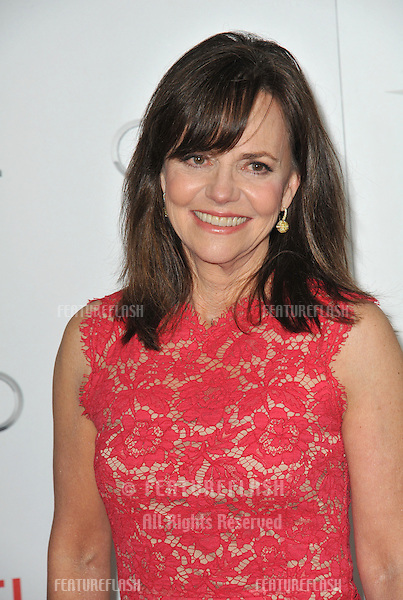 """Sally Field at the AFI Fest premiere of her movie """"Lincoln"""" at Grauman's Chinese Theatre, Hollywood..November 8, 2012  Los Angeles, CA.Picture: Paul Smith / Featureflash"""
