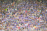 i29.07.2018, Erzgebirgsstadion, Aue, GER, Freundschaftsspiel/Testspiel/Eröffnung Erzgebirgsstadion Aue, FC Erzgebirge Aue vs. FC Schalke 04, im Bild<br /> <br /> <br /> Fans vom FC Erzgebirge Aue<br /> <br /> Foto © nordphoto / Dostmann