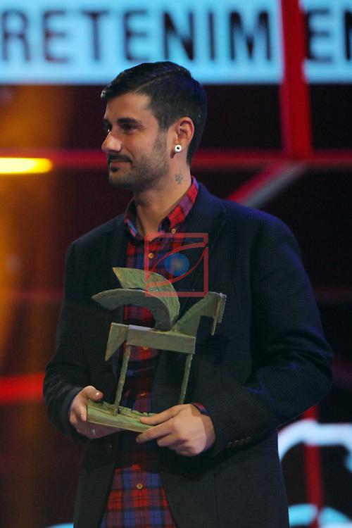 63 Premios Ondas.<br /> Gala de Entrega de los premios.<br /> Melendi.