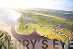 Aerial photos of Lahinch County Clare.