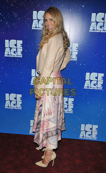 Naomi Isted at the &quot;Ice Age: Collision Course&quot; gala film screening, Empire cinema, Leicester Square, London, England, UK, on Saturday 09 July 2016.<br /> CAP/CAN<br /> &copy;CAN/Capital Pictures