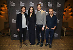 """Will Hochman, Mary-Louise Parker, Adam Rapp and David Cromer during the Press Preview Photo Call for """"The Sound Inside"""" at Studio 54 on September 20, 2019 in New York City."""