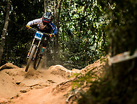 Picture by Alex Broadway/SWpix.com - 10/09/17 - Cycling - UCI 2017 Mountain Bike World Championships - Downhill - Cairns, Australia - Maya Atkinson of Great Britain competes in the Women Junior Downhill Final.