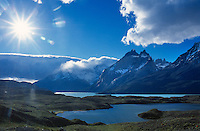 Torres del Paine National Park in southern Chile.