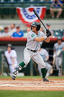 Daytona Tortugas TJ Friedl (6) at bat during a game against the Florida Fire Frogs on April 7, 2018 at Osceola County Stadium in Kissimmee, Florida.  Daytona defeated Florida 4-3 in a six inning rain shortened game.  (Mike Janes/Four Seam Images)