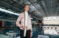 Lauren Boyle. Swimming New Zealand Gold Coast Commonweath Games Team Announcement, Owen G Glenn National Aquatic Centre, Auckland, New Zealand,Friday 22 December 2017. Photo: Simon Watts/www.bwmedia.co.nz