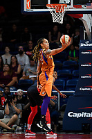 Washington, DC - July 30, 2019: Phoenix Mercury center Brittney Griner (42) gets a rebound during first half action of game between the Phoenix Mercury and Washington Mystics at the Entertainment & Sports Arena in Washington, DC. (Photo by Phil Peters/Media Images International)