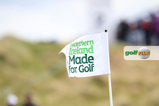 \{prsn}\  during Round 1 of the 2015 Dubai Duty Free Irish Open, Royal County Down Golf Club, Newcastle Co Down, Northern Ireland. 28/05/2015<br /> Picture Thos Caffrey, www.golffile.ie