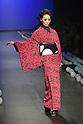 JOTARO SAITO<br /> Spring/Summer 2015<br /> - Tokyo Collection - Woman, Runway<br /> 2014/10/16, Tokyo, Mercedes Benz Fashion Week Tokyo 20155 S/S presented Sanai Saito / Jotaro Saito Runway at Hikarie in Shibuya.<br /> Michael Steinebach / AFLO