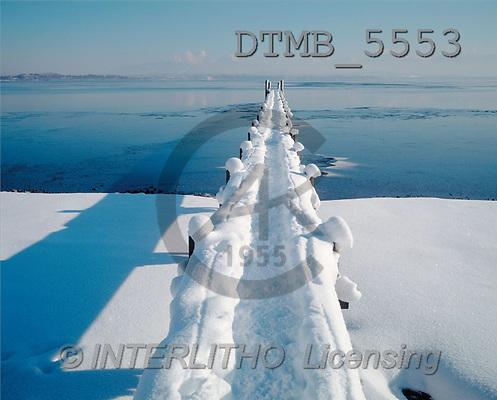 Gerhard, CHRISTMAS LANDSCAPE, photos, chiemsee, germany(DTMB5553,#XL#) Landschaften, Weihnachten, paisajes, Navidad
