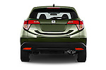 Straight rear view of a 2016 Honda HR-V EX 5 Door Suv Rear View  stock images