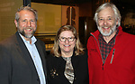 WATERBURY CT. 08 February 2018-020818SV05-From left, Bob Burns, director of Mattatuck Museum, Pam and Jack Baker of Litchfield attend The Mattatuck Museum's 5th Annual Beer Fest in Waterbury Thursday.<br /> Steven Valenti Republican-American