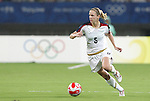 15 August 2008: Lindsay Tarpley (USA).  The women's Olympic team of the United States defeated the women's Olympic soccer team of Canada 2-1 after extra time at Shanghai Stadium in Shanghai, China in a Quarterfinal match in the Women's Olympic Football competition.