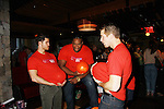 One Life To Live's Lenny Platt, Sean Ringgold, Josh Kelly at the Daytime Stars and Strikes Charity Event to benefit the American Cancer Society at the Bowlmore Lanes, New York City, New York. (Photo by Sue Coflin/Max Photos)