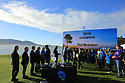 Prizegiving ceremony during the final round of the AT&T Pro-Am, Pebble Beach Golf Links, Monterey, USA. 11/02/2019<br /> Picture: Golffile | Phil Inglis<br /> <br /> <br /> All photo usage must carry mandatory copyright credit (© Golffile | Phil Inglis)