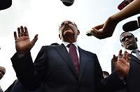 Presidente Danilo Medina, acto del 1er. picazo para la construcci&oacute;n de la autopista Circunvalaci&oacute;n.<br /> Fotos: Carmen Su&aacute;rez/acento.com.do<br /> Fecha: 18/06/2013