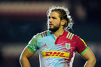 Luke Wallace of Harlequins looks on after the match. Aviva Premiership match, between Leicester Tigers and Harlequins on November 20, 2016 at Welford Road in Leicester, England. Photo by: Patrick Khachfe / JMP