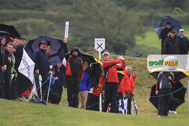 Brett Runford (AUS) on the 13th tee during round 2 of the Irish Open at Royal Portrush GC,Portrush,County Antrim,Ireland. 29/6/12.Picture Fran Caffrey www.newsfile.ie