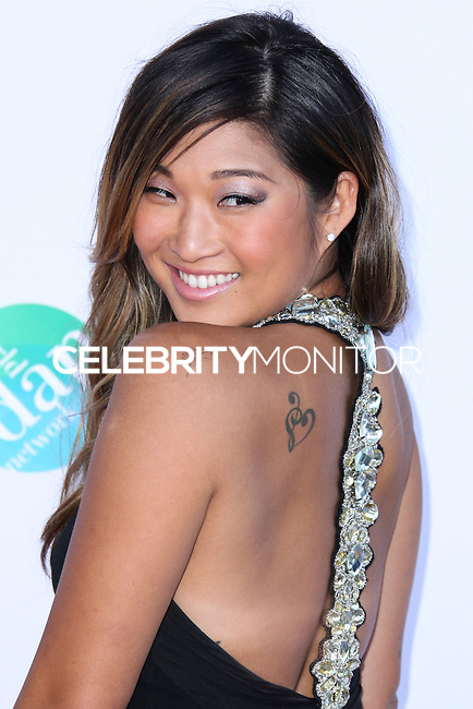 LOS ANGELES, CA, USA - JULY 19: Jenna Ushkowitz at the 4th Annual Celebration Of Dance Gala Presented By The Dizzy Feet Foundation held at the Dorothy Chandler Pavilion at The Music Center on July 19, 2014 in Los Angeles, California, United States. (Photo by Xavier Collin/Celebrity Monitor)