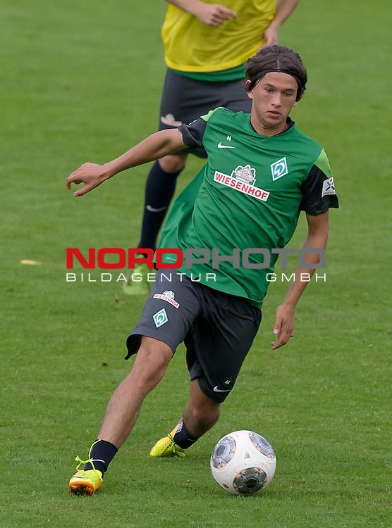 04.09.2013, Trainingsgelaende, Bremen, GER, 1.FBL, Training Werder Bremen, im Bild Julian von Haacke (Bremen #7)<br /> <br /> Foto &copy; nph / Frisch