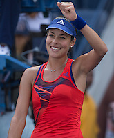 Ana Ivanovic<br /> Tennis - US Open  - Grand Slam -  Flushing Meadows  2013 -  New York - USA - United States of America - Thursday 29th August 2013. <br /> &copy; AMN Images, 8 Cedar Court, Somerset Road, London, SW19 5HU<br /> Tel - +44 7843383012<br /> mfrey@advantagemedianet.com<br /> www.amnimages.photoshelter.com<br /> www.advantagemedianet.com<br /> www.tennishead.net