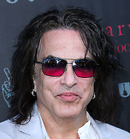 WEST HOLLYWOOD, CA, USA - SEPTEMBER 21: Paul Stanley arrives at the John Varvatos #PeaceRocks Ringo Starr Private Concert held at the John Varvatos Boutique on September 21, 2014 in West Hollywood, California, United States. (Photo by Xavier Collin/Celebrity Monitor)