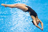 Flora Piroska Gondos HUN<br /> 3m Springboard Women preliminary<br /> Day 06 14/06/2015  <br /> 2015 Arena European Diving Championships<br /> Neptun Schwimmhalle<br /> Rostock Germany 09-14 June 2015 <br /> Photo Giorgio Perottino/Deepbluemedia/Insidefoto