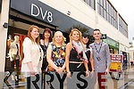The opening of DV8 fashion store, Abbey Court, Tralee on Friday. The opening of DV8 fashion store, Abbey Court, Tralee on Friday. Pictured left to right: Aine O'Connor (Sales advisor), Marisa Byrnes (Store Manager, Clonmel), Helena Daly (Assistant Manager), Claire Goodley (Store Manager), Lucy Hussey (Sales Advisor) and David O'Carroll (Sales Advisor).