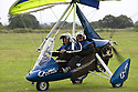 01/07/15<br /> <br /> Injured veteran taxis towards take-off in flex-wing..<br /> <br /> *** FULL STORY HERE: <br /> http://www.fstoppress.com/articles/flying-for-heroes/  ***<br /> <br /> A special aircraft adapted to be flown by wounded, injured and sick servicemen took to the skies for the first time above Britain today.<br /> <br /> The two-seater para-trike is one of three similar aircraft operated by Flying For Heroes that are currently based at Darley Moor Airfield, Ashbourne, Derbyshire.<br /> <br /> Ten wounded servicemen took to the controls of this, and many other aircraft, during a two-day flying training camp hosted by Airways Airsports.<br /> <br /> *** FULL STORY HERE:  http://www.fstoppress.com/articles/flying-for-heroes/  ***<br /> <br /> All Rights Reserved: F Stop Press Ltd. +44(0)1335 418629   www.fstoppress.com.